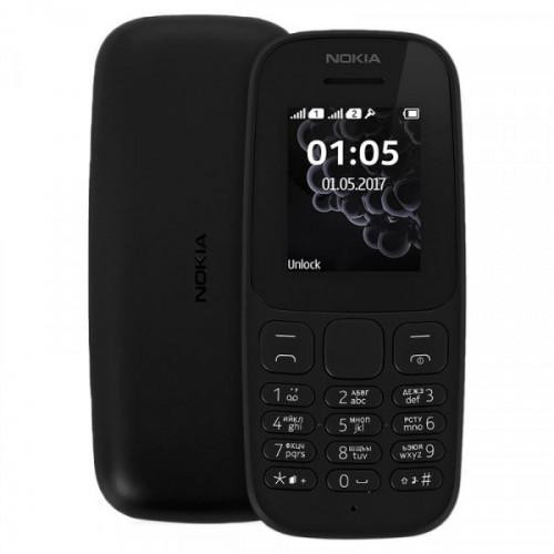 Мобильный телефон NOKIA 105 (2017) черный