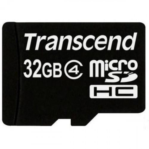 Карта памяти Transcend microSDHC 32GB Class4(TS32GUSDC4)