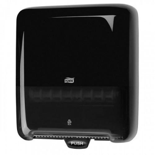 Держатель для рулонных полотенец бесконтактный TORK (Система H1), Matic, черный, 551008
