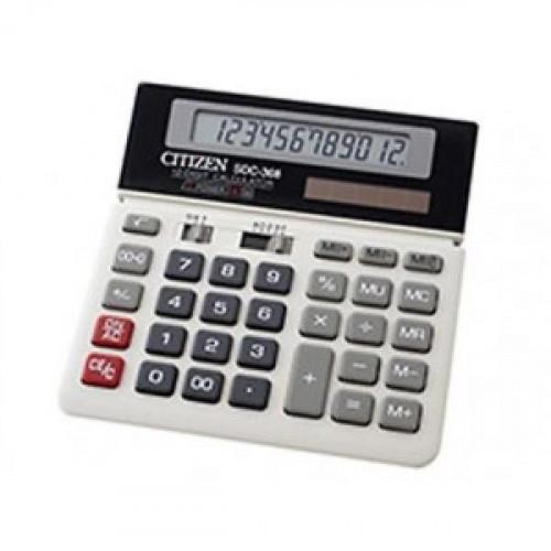 Калькулятор CITIZEN бухгалтерский SDC-368LT 12-разрядный
