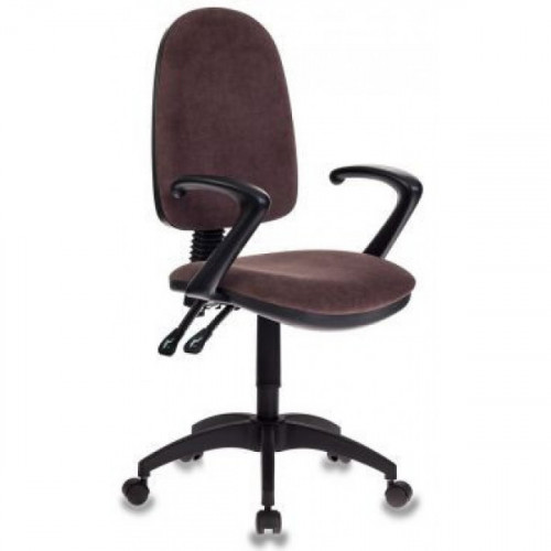 Кресло Бюрократ T-610/BROWN коричневый Mars 12