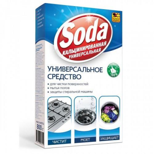 Сода кальцинированная универсальная 0.8 кг