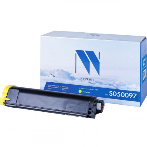 Картридж NV Print совместимый Epson S050097 Yellow (4500k)