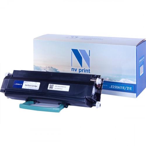 Картридж NV Print совместимый Lexmark E250A11E/21E  (3500k)