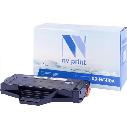 Картридж NV Print совместимый Panasonic KX-FAT410A  (2500k)