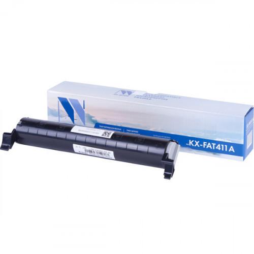 Картридж NV Print совместимый Panasonic KX-FAT411А  (2000k)