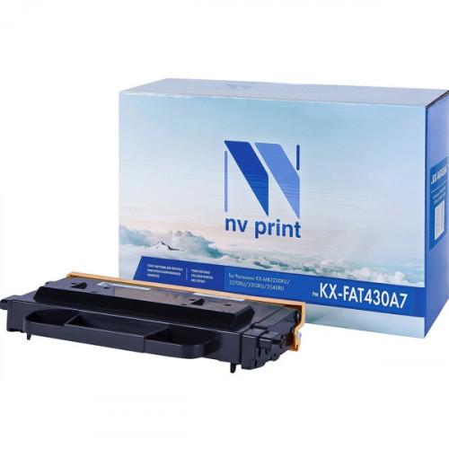 Картридж NV Print совместимый Panasonic KX-FAT430A7  (3000k)