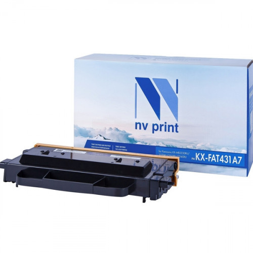 Картридж NV Print совместимый Panasonic KX-FAT431A7  (6000k)