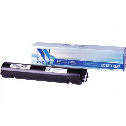 Картридж NV Print совместимый Panasonic KX-FAT472A7  (2000k)