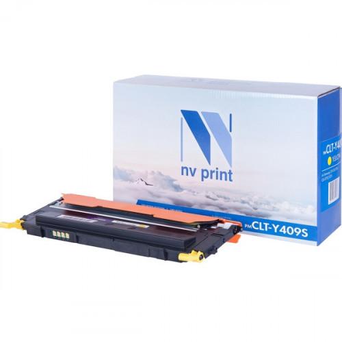 Картридж NV Print совместимый Samsung CLT-Y409S Yellow (1000k)