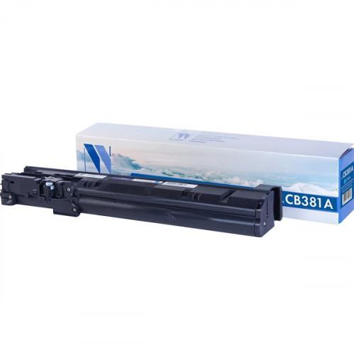 Картридж NV Print совместимый HP CB381A Cyan (21000k)