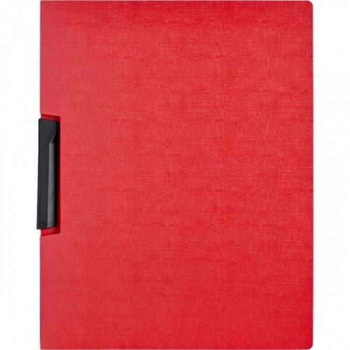 Папка для брошюровки Attache с клипом А4 красная