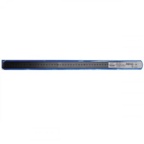 """Линейка стальная """"deVENTE"""" 50 см, толщина 0,5 мм, в пластиковом чехле"""