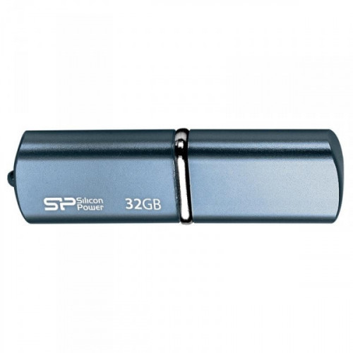 Флеш-память Silicon Power Luxmini 720 32Gb USB 2.0 синяя