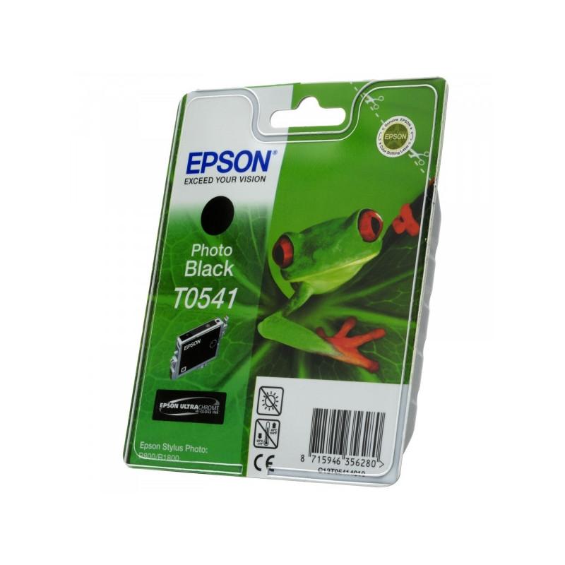Картридж струйный Epson T0541 C13T05414010 черный оригинальный