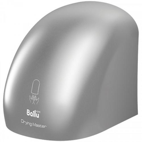 Сушилка для рук Ballu, 2000Вт, пластик, 242*224*223мм, серый металлик