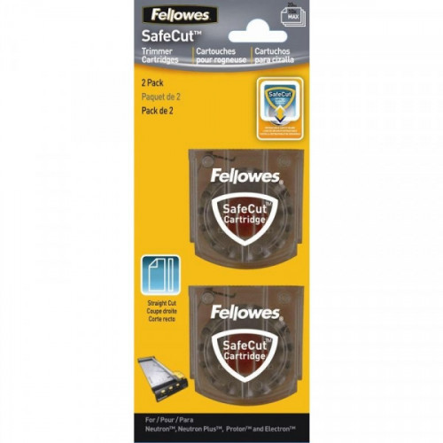 Лезвие для резаков для бумаги Fellowes SafeCut 54114 прямая резка 2 штуки в упаковке