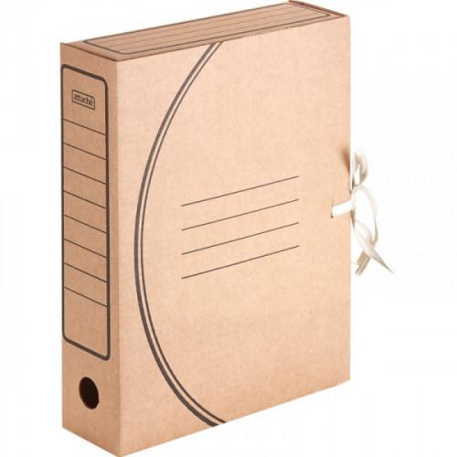 Короб архивный гофрокартон бурый 320x75x240 мм