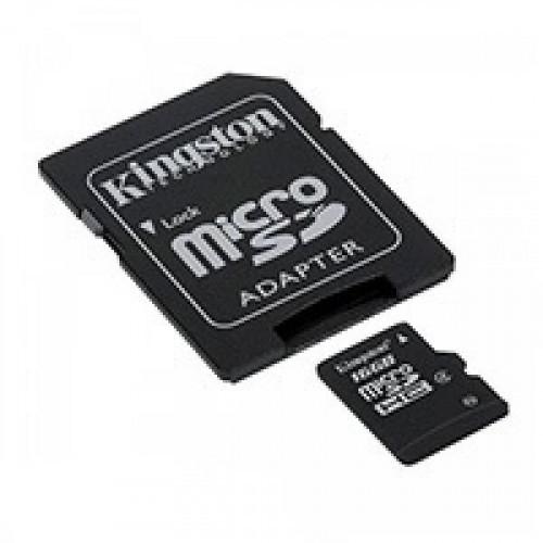 Карта памяти Kingston microSDHC 16GB Class 4(SDC4/16GB)