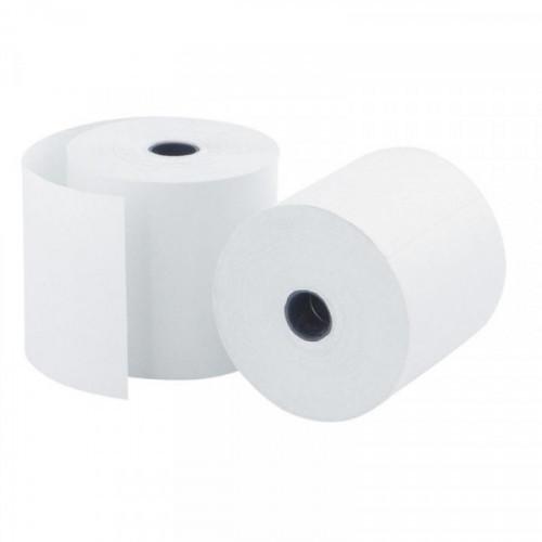 Чековая лента из офсетной бумаги Promega jet 57 мм (диаметр 60 мм, намотка 30 м, втулка 12 мм, 15 штук в упаковке)