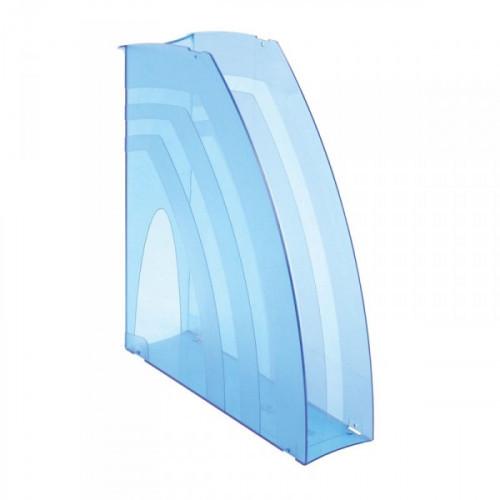 Вертикальный накопитель Attache 70 мм тонированный синий 2 штуки