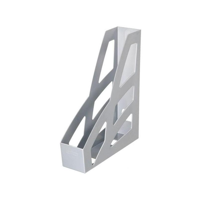 Вертикальный накопитель Стамм Лидер 70 мм серый 2 штуки в упаковке