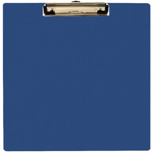 Папка-планшет WORKMATE U-Save пластиковая синяя А4 (0.9 мм)