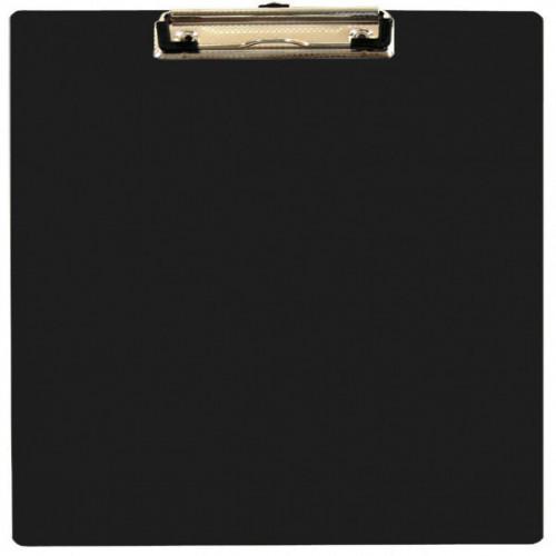 Папка-планшет WORKMATE U-Save пластиковая черная А4 (0.9 мм)
