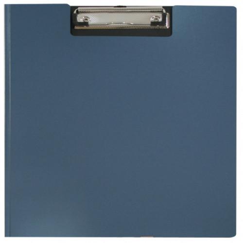 Папка-планшет с крышкой пластиковая синяя WORKMATE Office Line А4 (0.8 мм)