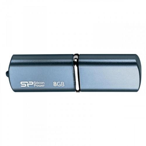 Флеш-память Silicon Power Luxmini 720 8Gb USB 2.0 синяя