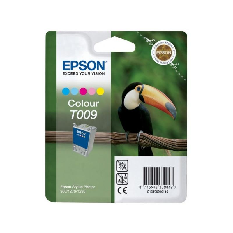 Картридж струйный Epson T009 C13T00940110 цветной оригинальный
