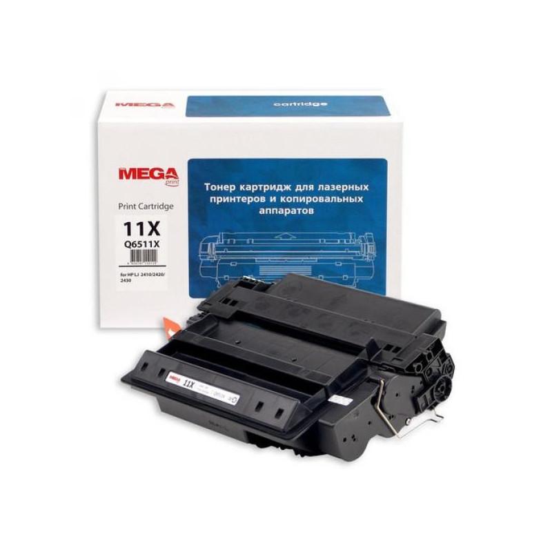 Тонер-картридж лазерный Pro Mega 11X Q6511X черный совместимый