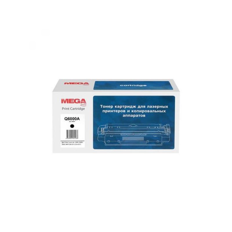 Тонер-картридж лазерный Pro Mega 124A Q6000A черный совместимый