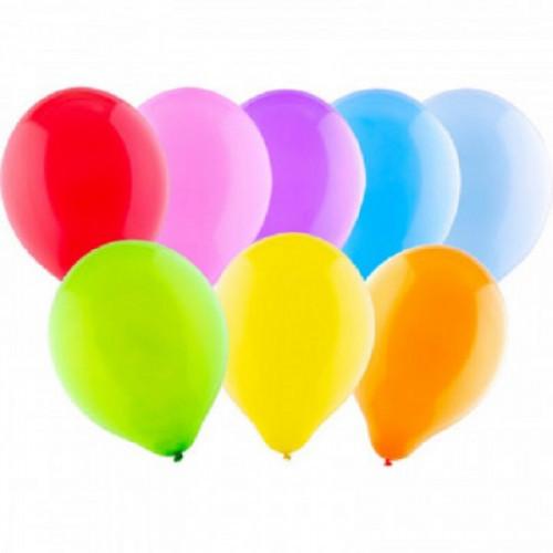 Набор шаров металлик, цвет в асс., 30 см, 100 шт/уп KL40906