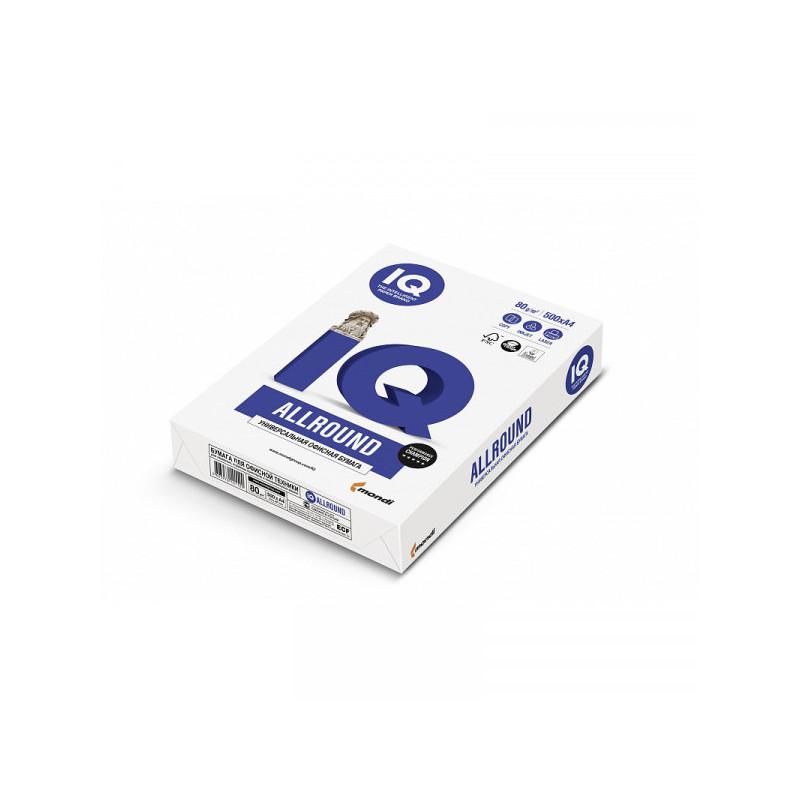 "Бумага ""IQ ALLROUND"" А4 80 г/м 162 % CIE 500 листов"