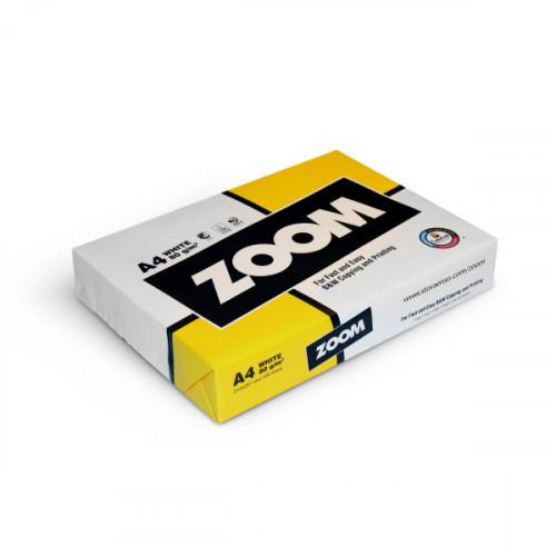Бумага для техники ZOOM А4, С+ класс, 80г/м2, CIE 150%, 500 листов (COLORLOK)