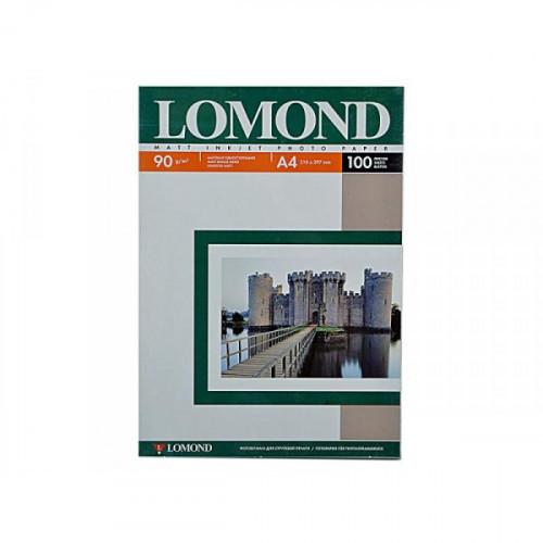 Бумага Lomond A4 90 г/м2 100 листов матовая для струйной печати