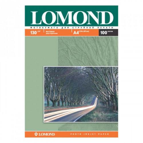 Бумага Lomond A4 130 г/м2 100 листов матовая для струйной печати