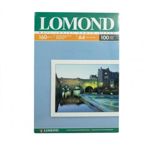 Бумага Lomond A4 160 г/м2 100 листов матовая для струйной печати