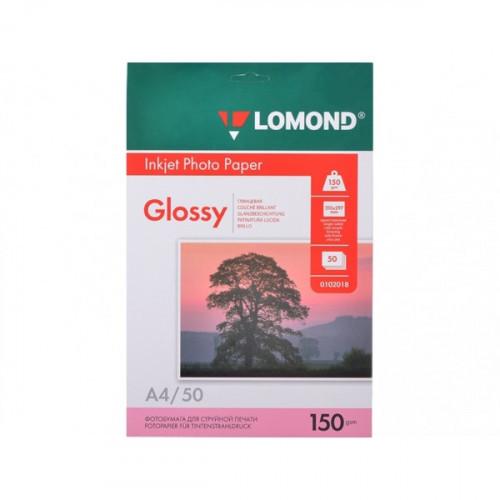 Бумага Lomond A4 150 г/м2 50 листов глянцевая для струйной печати
