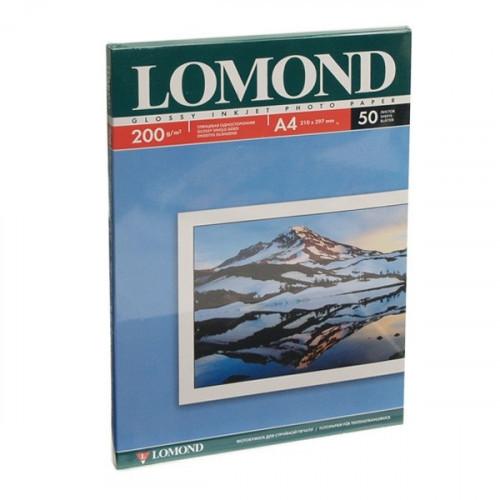 Бумага Lomond A4 200 г/м2 50 листов глянцевая для струйной печати