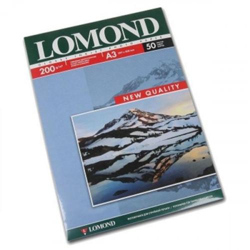 Бумага Lomond A3 200 г/м2 50 листов глянцевая для струйной печати