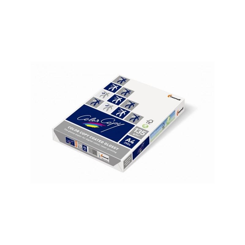 Бумага Color Copy Coated Glossy А3 170 г 141 CIE % пачка 250 листов