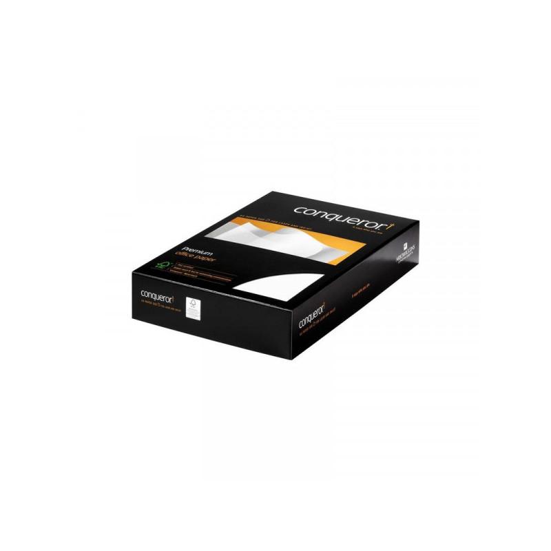 Бумага Conqueror «Верже» А4, 100 г/кв.м, DW - белый бриллиант, 500 листов