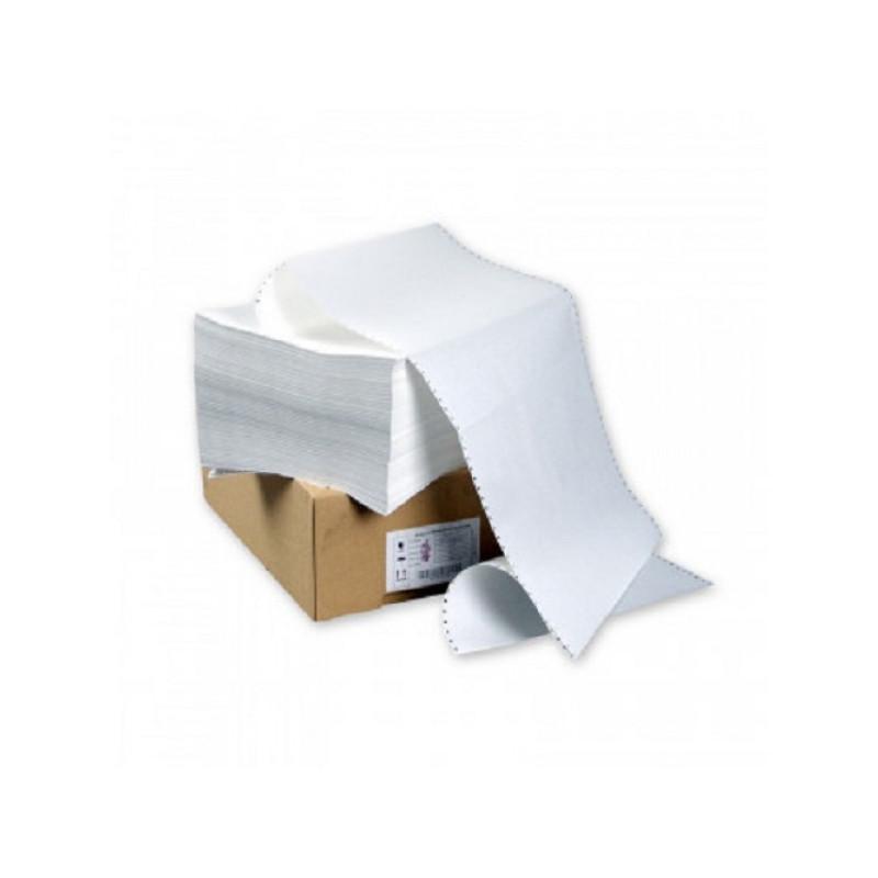 "Перфорированная бумага 420мм (1-сл.,шаг12"",бел.100%,НП, Стандарт) 2000л/уп"