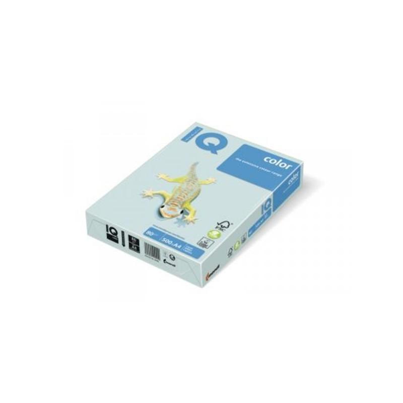 Бумага цветная IQ COLOR А3 80 г BL29-светло-голубой пачка 500 листов