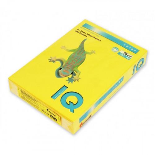 Бумага цветная IQ COLOR А4 80 г IG50-горчичный 500 листов