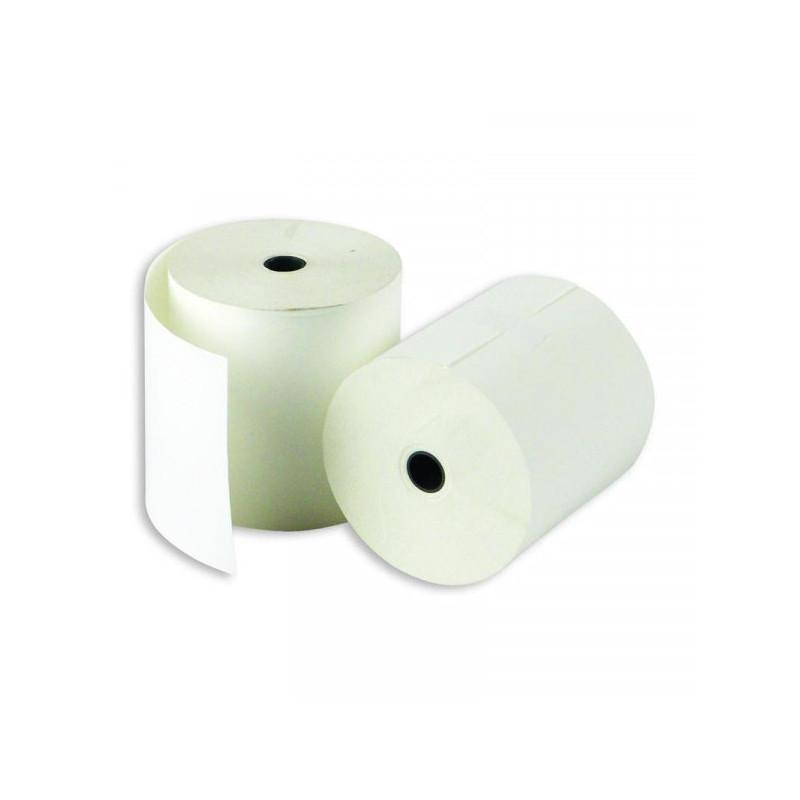 Чековая лента из термобумаги ProMega 80 мм диаметр 71-73 мм намотка 80 м втулка 12 мм 8 штук в упаковке