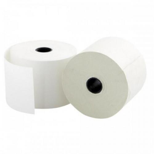 Чековая лента из офсетной бумаги ProMega 44 мм диаметр 60 мм намотка 28-30 м втулка 12 мм 20 штук в упаковке
