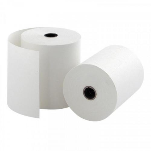 Чековая лента из офсетной бумаги 69 мм Promega jet (диаметр 50 мм, намотка 16-17 м, втулка 12 мм, 12 штук в упаковке)